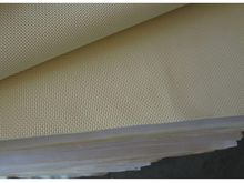 textured neoprene rubber embossed mesh skin surface processing