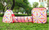 Kids Play Tent Set Outdoor Play House Children Big Pop Up Play Tent With Tunnel-KT169