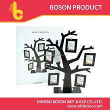 iron family tree photo frame
