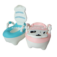 De plástico 2015 popular trainning wc/baby orinal/cloststool baby