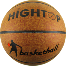 Top quality leather basketball