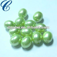 8mm Green Loose Pearl Beads/Pearl Jewelry