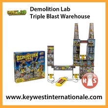 Demolition Lab: Triple Blast Warehouse