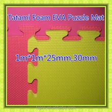 Colorful Judo Tatami Mats EVA Tatami Foam Mats Puzzled Tatami Judo foam Mats