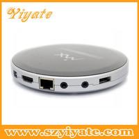 hot model dual core tv box round mx 1080P HD support youtube bluetooth skype webcam XBMC miracast chromecast Android TV box
