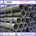 Tubo con costura/ tubo estructural negro/ tubo de acero cédula 40