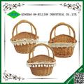 vime artesanal baratos personalizado cesta de páscoa