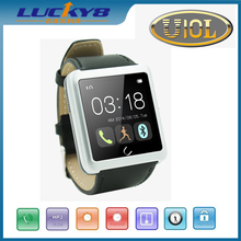Newest hot sale china smart watches fashion touch screen watches Bluetooth u10 uwatch smartwatch phone
