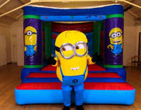 12x14 minion bouncy castle/bounce house inflatables