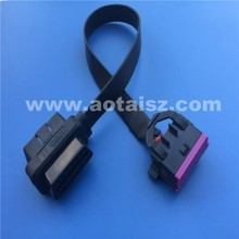 High quality J1962 16pin obdii male to female cable for Vw diagnostic tool