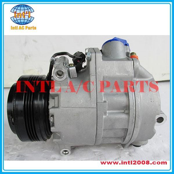 Auto ac (a/c) compressor for Calsonic Kansei CSE717 for BMW X5 2006 oem#64529185146-03