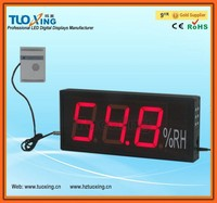 4 inch 3 digits LED humidity gauges