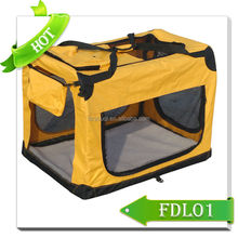 Luxury Fabric Pet Crate Dog bag carrier