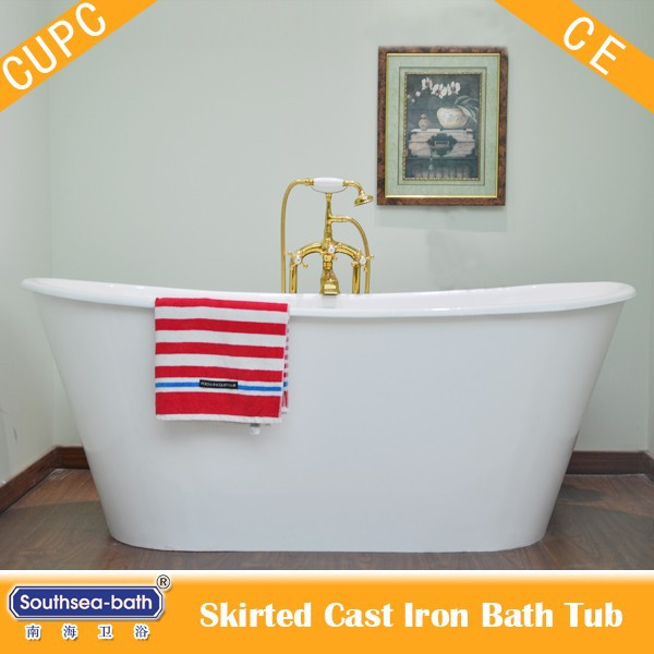 Customer Size Bath Tub Nh 1008 4 Cast Iron Bathtub Whirlpool Freestanding Ca