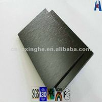 imported brushed black aluminum outdoor wall decorative sheet