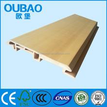 Multi - colors vinyl siding 90V outdoor building decoration WPC waterproof wall board