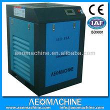 AC power screw type Lubricated air compressor supplier compressor lubricants