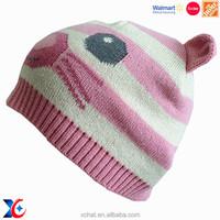 Hairwake The Home depot certification handmade crochet cartoon animal hat child girls' hat