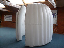 Factory direct advertisement inflatable cube model for promotion