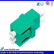 Fiber Adapter, LC / LC Duplex Ceramic Sleeve, No Flange
