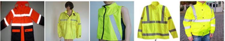 Оптовая EN20471 100% Полиэстер Желтая Сетка Безопасности Светоотражающий Жилет Под Управлением