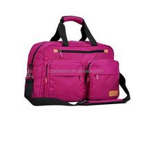 Nylon Single Shoulder Duffel Travel Bag