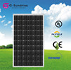 High efficiency solar panels heavy duty