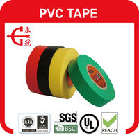 PVC tape rubber adhesive insulation tape ,pvc electric tape