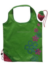 Fruit strawberry design foldable eco bag