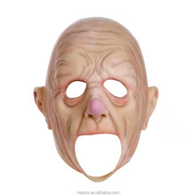 Factory direct Breathing well old man mask for celebrity party decoration