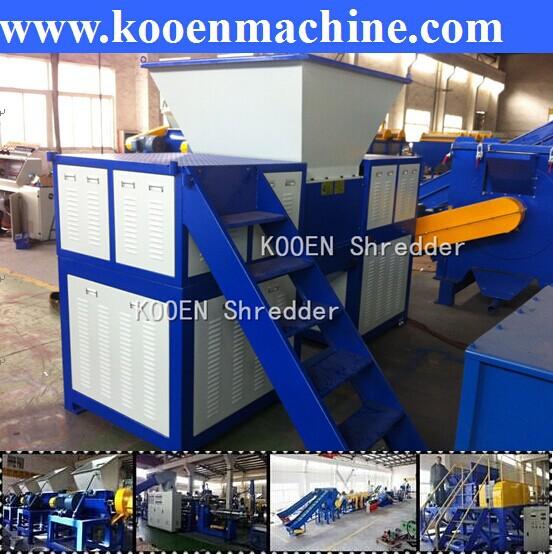 big shredding machine