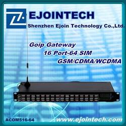 Voip adapter gsm gateway 6 channel goip gateway gsm desk phone