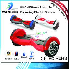 New Smart Bluetooth 8 inch Self Balancing Balance 2 Wheel Electric Scooter LED Lights