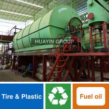 Huayin Brand 10 Ton/Day Waste Tire Recycling/Pyrolysis Machine