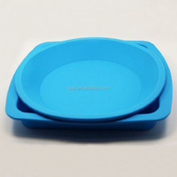 Custom round silicone trays vape pen silicone rubber tray silicone square pans vapor plate holder