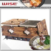 WISE Kitchen Efficient Double Tank Japanese Oden Machine For Commercial Use