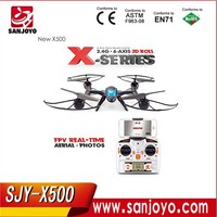 2015 New Product MJX X500 2.4G FPV quadrocopter plane drone rc helicopter 6-axis support c4002 c4005 camera kids toys for child