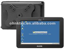 Olink 7 inch vehicle-mount Windows CE computers (7 inch LCD, Touch function, WiFi, Lan, RS232)