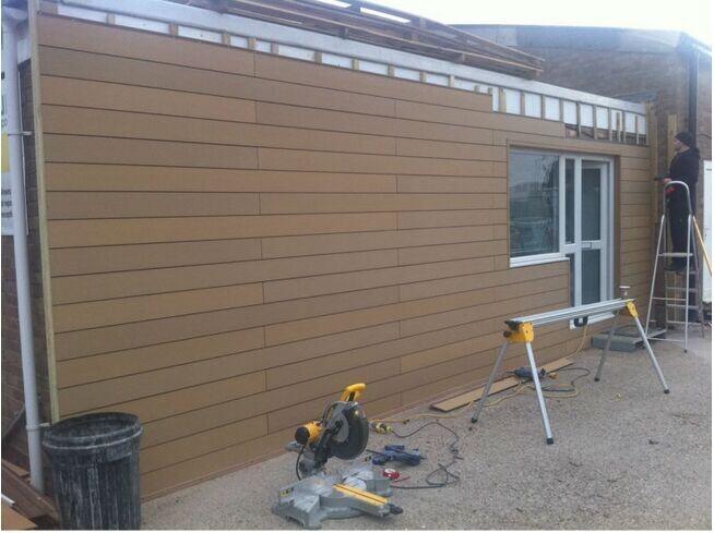 Holz-kunststoff-verbundwerkstoff Wandverkleidung für Außen ...