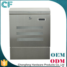Combination Price Cast Stainless Steel Lockable Post Box