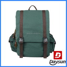 Students travel bag canvas backpack bags for man