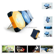 Portable LED Lamp Solar Cell Phone Charger