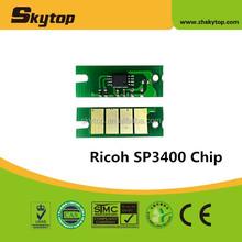 Hot! reset toner cartridge chip for ricoh sp3400 sp3410