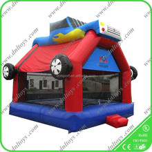 high quality Inflatable fire truck bouncer,inflatable bouncer commercial