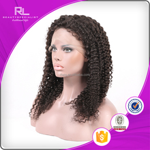 Newest factory supply human hair full lace silicone wig
