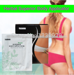 Natural herbals Chinese Detox slimming patchs it works for inch loss anti-cellulite tightening superior Fit Body Wraps