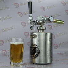 64OZ stainless mini keg stella artois beer in can