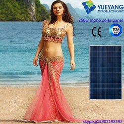 prices for solar panels 230~250W poly solar module in stock solar panel price