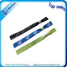 Buy direct from the manufacturer custom cotton wristbands with aluminum tube