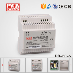DR-60-5 5V 6.5A Din Rail switch/switching power supply, 5v power supply